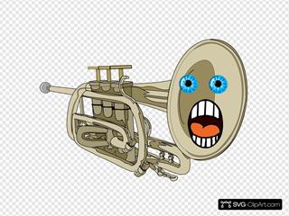 Surprised Trumpet