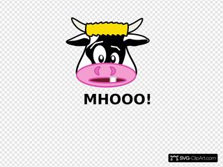 Mhooo! SVG Clipart