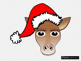 Christmas Giraffe
