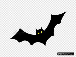 Bat SVG Clipart