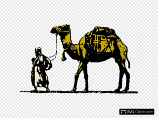 Camel SVG Clipart