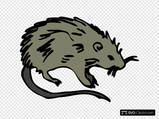 Mouse Rat Rodent SVG Cliparts
