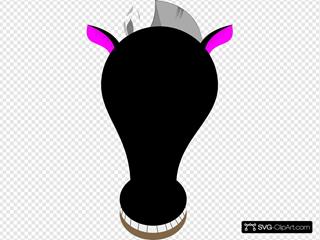 Comic Horse Face