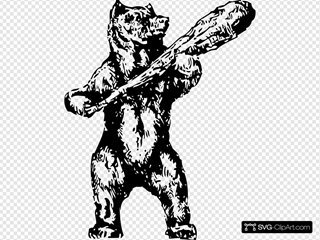 Bear With A Club