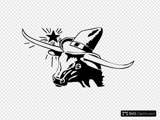 Cowboy Bull From Texas