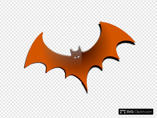 Orange Gradient Bat