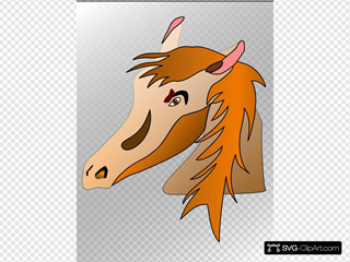 Horse Head SVG Clipart