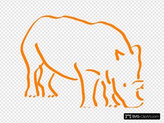 Orange Rhino