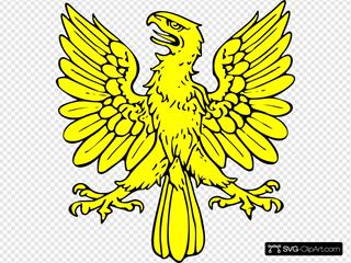 Gold Eagle Symbol