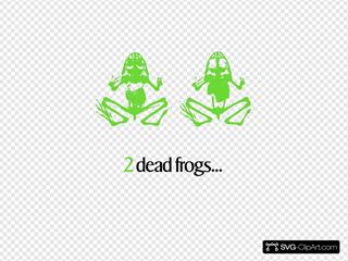 2 Dead Frogs