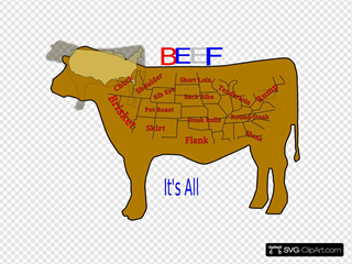 Beef It S All Good SVG Clipart