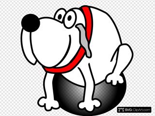 Gardian Dog White