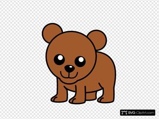Baby Cartoon Bear