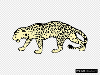Leopard SVG icons