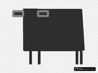 Square Cow