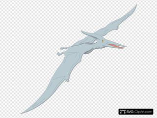 Light Blue Pterodactyl