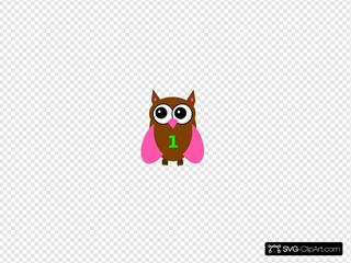Pink Owl Olivia Birthday
