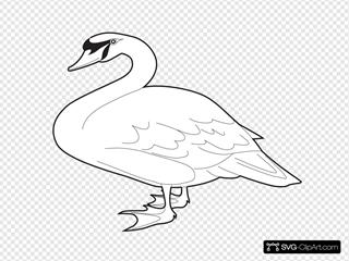 Goose Outline