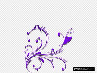 Butterfly Scroll