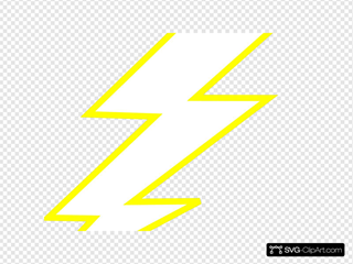 Lightning Bolt SVG Clipart