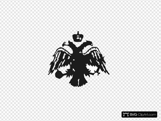 Byzantine Headed Eagle Copia SVG icons