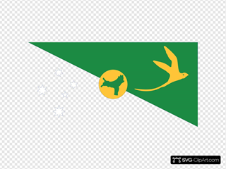 Flag Of The Territory Of Christmas Island