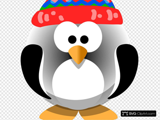 Cute Penguin With Hat