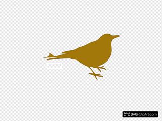 Golden Bird By Bibitebar
