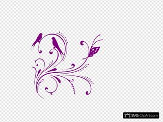 Purple Swirl Clipart