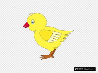 Chicken 002 Figure Color
