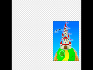 Castle On The Hill SVG Clipart