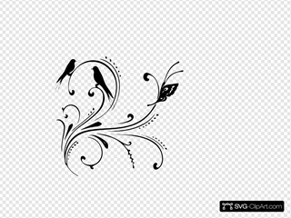 Black Swirl