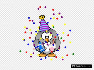 Birthday Party Penguin