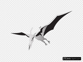 Silver Pterodactyl