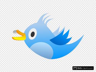Blue Tweet Bird