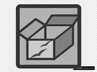 Setup Button SVG Clipart