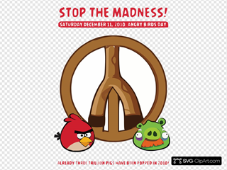 Shot At Peace With Angry Birds