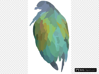 Shiny Bird Clipart