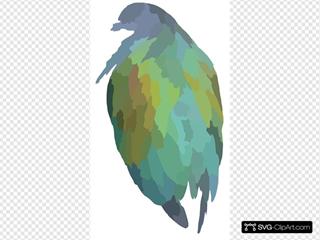 Shiny Bird Clipart
