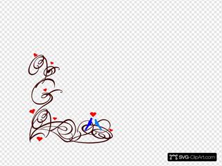 Decorative Swirl Bird