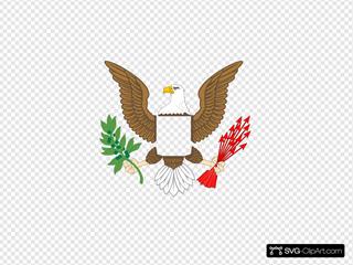 Plain Eagle SVG Clipart