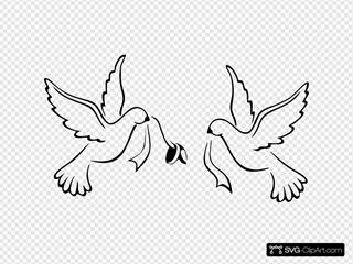 Love Birds Wedding Bands