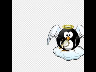 Heavenly Penguin