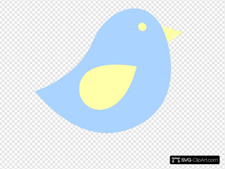 Blue And Yellow Birdie