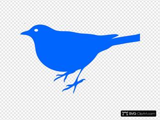 Bird3 SVG Clipart
