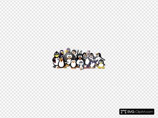 Penguin Group Photo