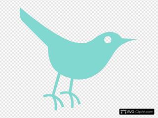 Robins Egg Twitter Bird