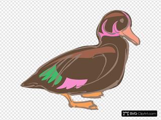 Stylized Duck Art
