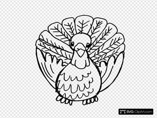 Turkey Black And White