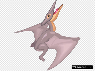 Pteranodon Taking Off